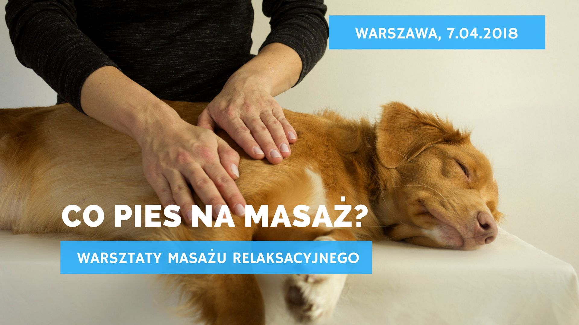 Warsztaty masażu relaksacyjnego: 7.04.2018